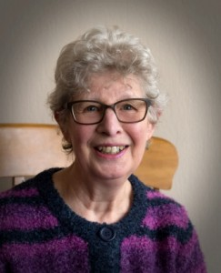 Oriel - volunteer therapist. Retired after working in various roles in education sector